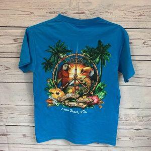 Ron Jon surf shopblue  t-shirt Sz S